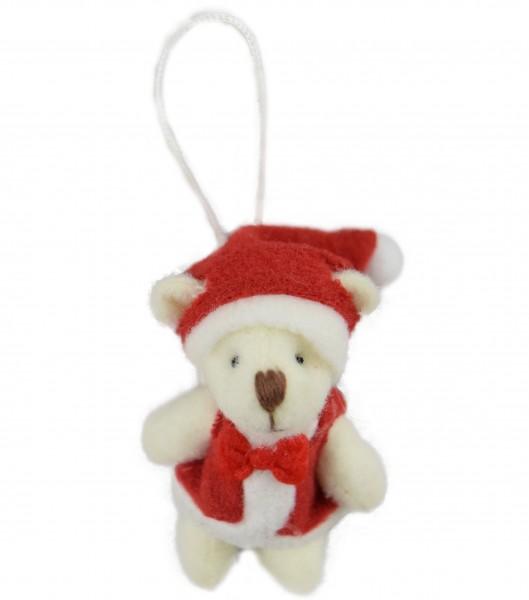 Schlüsselanhänger Weihnachtsbärchen