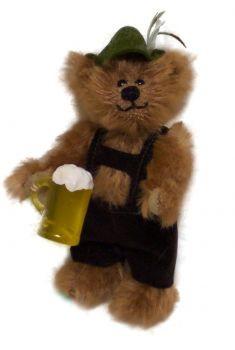 Manfred mit Bierkrug