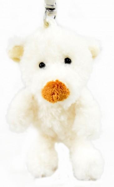 """Schlüsselanhänger Teddy """"weißer Bär"""""""