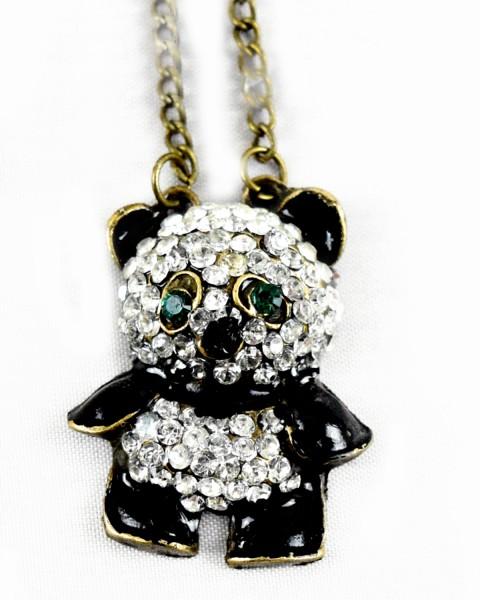Panda-Halskette
