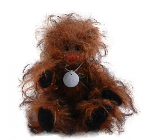 Miniatur Teddybär Horoskopbär Löwe
