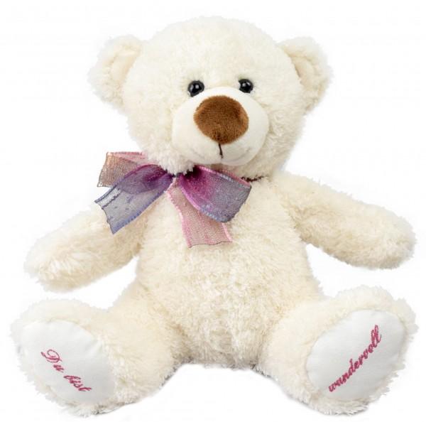 """Wünsche-Teddy """"Du bist wundervoll"""""""