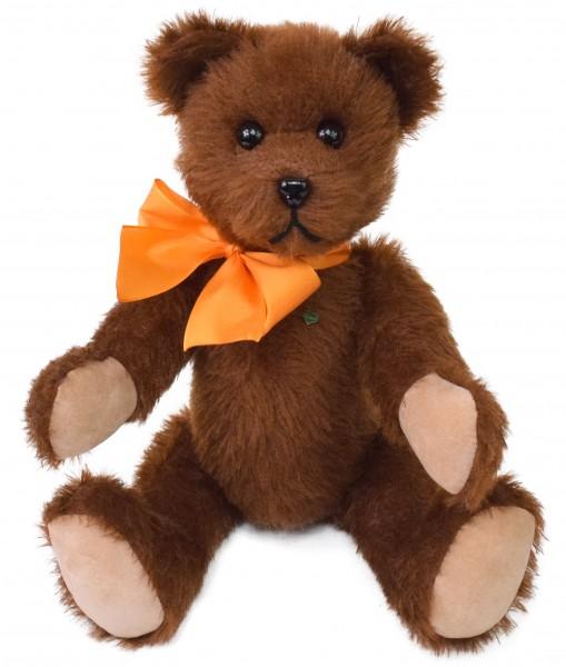 Teddybär Brüderchen brauner Teddy 40cm mit Brummstimme von Martin Bären aus Sonneberg