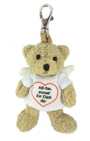 """Schlüsselanhänger Teddy """"Ich bin immer für dich da"""""""