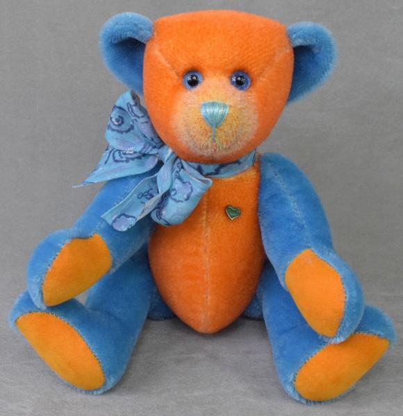 Unikat Orange-Blau