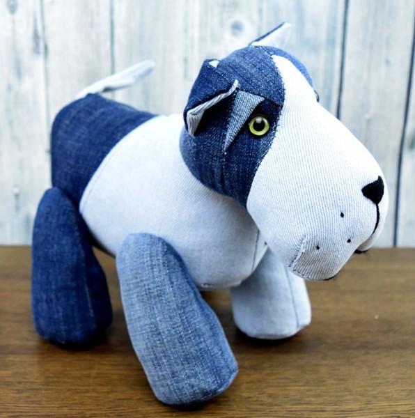 Unikat Jeans Hund