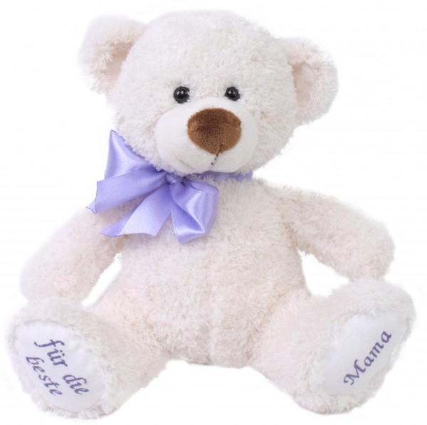 """Wünsche-Teddy """"für die beste Mama"""""""