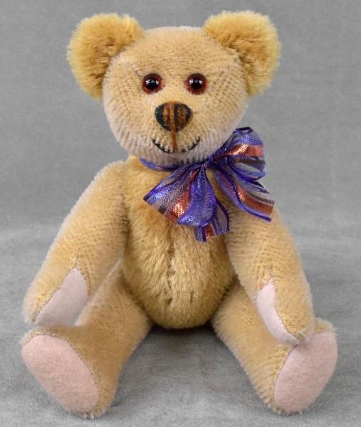 Teddybär Unikat Freundlich 20cm mit Holzwolle Teddy von Martin Bären