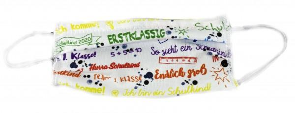 Mund-Nasen-Maske für Kinder Schulkind