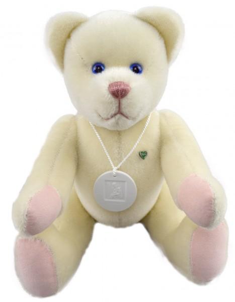 Großer Horoskopbär Jungfrau Teddybär mit Sternzeichen Jungfrau Meissner