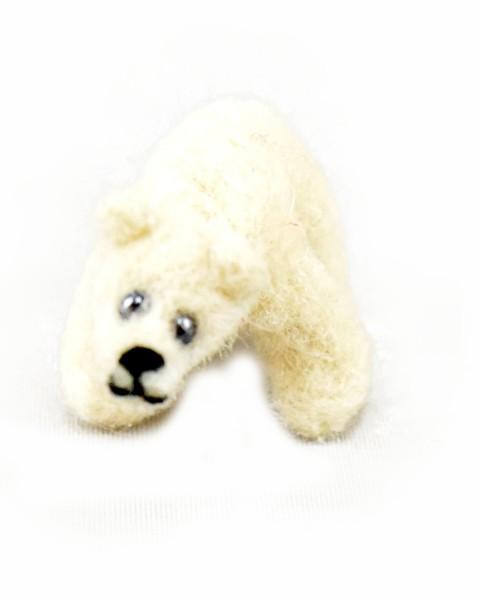 Filz Eisbär Flöckchen