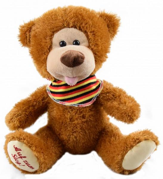 """Wünsche-Teddy """"Auf zum Sieg"""""""