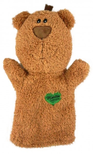 """Teddybär Handpuppe """"Fossi"""""""