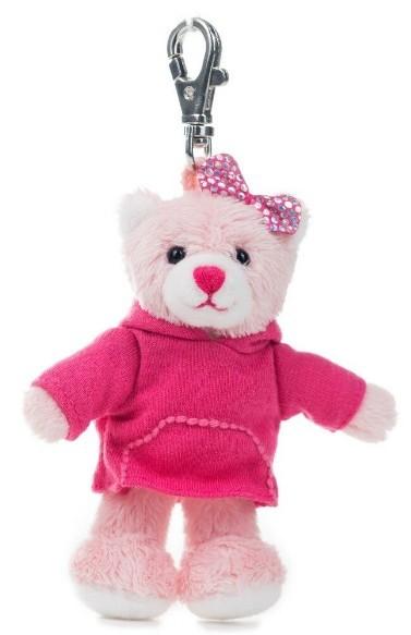 Schlüsselanhänger rosa Bärchen
