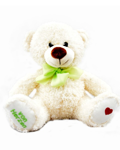 """Wünsche-Teddy """"von Herzen"""""""
