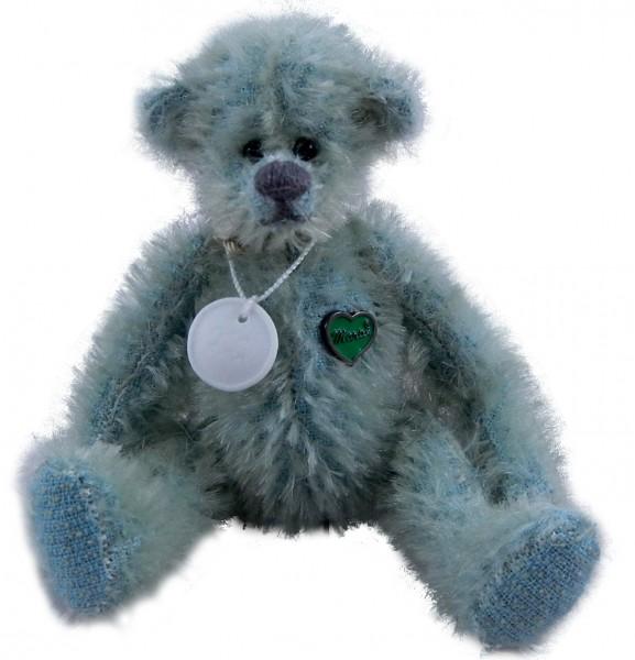 Miniatur Teddybär Wassermann von Martin